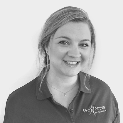 Lucinda Davies, Physiotherapist